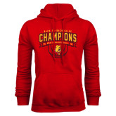 Red Fleece Hoodie-Back-to-Back GLIAC Champions Mens Basketball 15-16