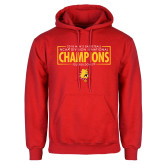 Red Fleece Hoodie-2018 NCAA Mens Basketball National Champions - Box