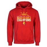 Red Fleece Hoodie-2018 NCAA Mens Basketball National Champions - Basketball