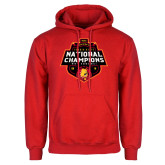 Red Fleece Hoodie-2018 NCAA Mens Basketball National Champions