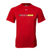 Under Armour Red Tech Tee-#FerrisStrong