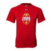 Under Armour Red Tech Tee-Ferris State Football Tall