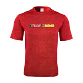 Performance Red Heather Contender Tee-#FerrisStrong