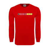 Red Long Sleeve T Shirt-#FerrisStrong