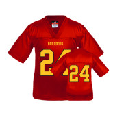 Youth Replica Red Football Jersey-#24