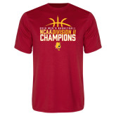Performance Red Tee-2018 NCAA Mens Basketball National Champions - Basketball