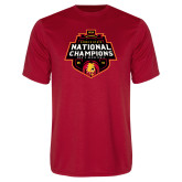 Performance Red Tee-2018 NCAA Mens Basketball National Champions