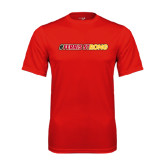 Performance Red Tee-#FerrisStrong