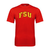Performance Red Tee-Arched FSU