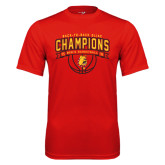 Performance Red Tee-Back-to-Back GLIAC Champions Mens Basketball 15-16