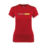 Ladies Syntrel Performance Red Tee-#FerrisStrong