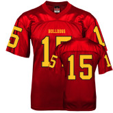 Replica Red Adult Football Jersey-#15