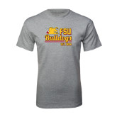 Sport Grey T Shirt-Bulldogs Est. 1884 Stacked