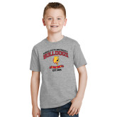 Youth Grey T-Shirt-Bulldogs Est. 1884 Arched