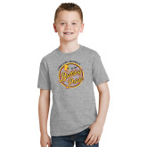 Youth Sport Grey T Shirt-Bulldog Pride