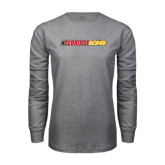 Grey Long Sleeve T Shirt-#FerrisStrong