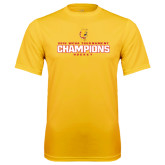 Performance Gold Tee-2016 WCHA Tournament Champions Hockey