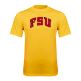 Performance Gold Tee-Arched FSU