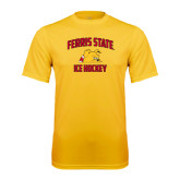Performance Gold Tee-Ice Hockey