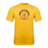 Performance Gold Tee-Hockey Circle w/ Sticks