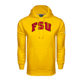 Under Armour Gold Performance Sweats Team Hood-Arched FSU