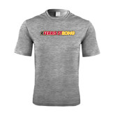 Performance Grey Heather Contender Tee-#FerrisStrong
