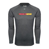 Under Armour Carbon Heather Long Sleeve Tech Tee-#FerrisStrong