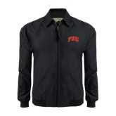 Black Players Jacket-Arched FSU