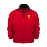 Red Survivor Jacket-Bulldog Head