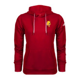 Adidas Climawarm Red Team Issue Hoodie-Bulldog Head