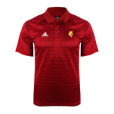 Adidas Climalite Red Jaquard Select Polo-Bulldog Head