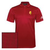 Adidas Climalite Red Game Time Polo-Bulldog Head