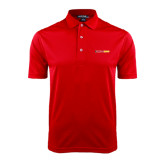 Red Dry Mesh Polo-#FerrisStrong