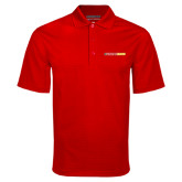 Red Mini Stripe Polo-#FerrisStrong