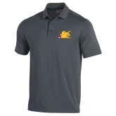 Under Armour Graphite Performance Polo-Bulldog Head Peeking