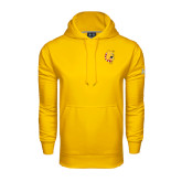 Under Armour Gold Performance Sweats Team Hood-Bulldog Head