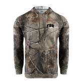 Realtree Camo Fleece Hoodie-Arched FSU