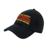 Black Twill Unstructured Low Profile Hat-2018 NCAA Mens Basketball National Champions