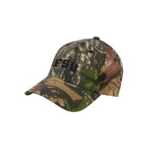Mossy Oak Camo Structured Cap-Arched FSU