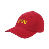 Red OttoFlex Unstructured Low Profile Hat-Arched FSU