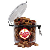 Deluxe Nut Medley Round Canister-Bulldog Head
