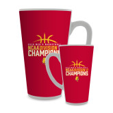 Full Color Latte Mug 17oz-2018 NCAA Mens Basketball National Champions - Basketball