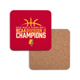 Hardboard Coaster w/Cork Backing-2018 NCAA Mens Basketball National Champions - Basketball
