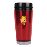 Solano Acrylic Red Tumbler 16oz-Bulldog Head