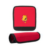 Neoprene Red Luggage Gripper-Bulldog Head