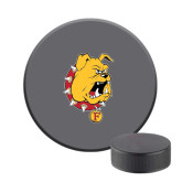 Hockey Puck Stress Reliever-Bulldog Head
