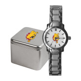 Ladies Stainless Steel Fashion Watch-Bulldog Head