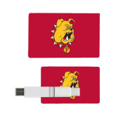 Card USB Drive 4GB-Bulldog Head