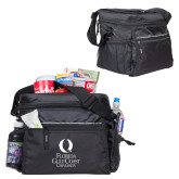 All Sport Black Cooler-University Mark Stacked