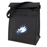 Koozie Black Lunch Sack-Eagle Head